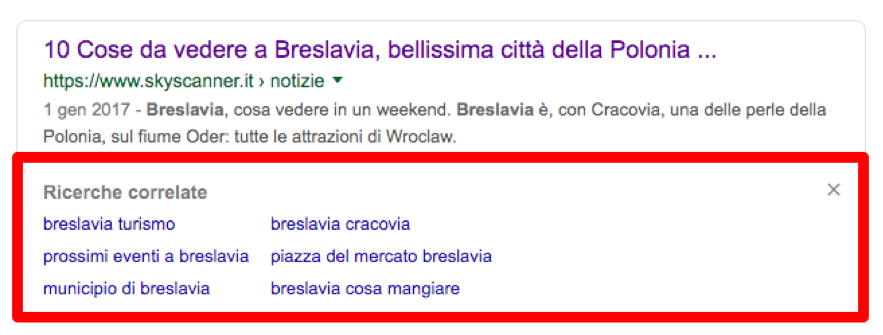 ricerche correlate breslavia