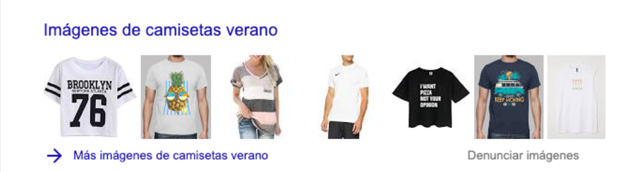 camisetas verano search - images carousel